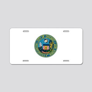 City of Chicago Seal Aluminum License Plate