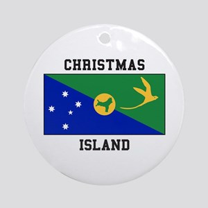 Christmas Island Ornament (Round)