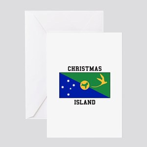 Christmas Island Greeting Cards