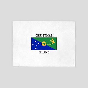Christmas Island 5'x7'Area Rug