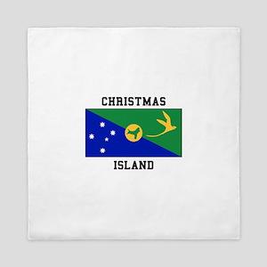 Christmas Island Queen Duvet