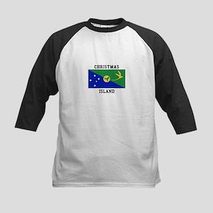 Christmas Island Baseball Jersey