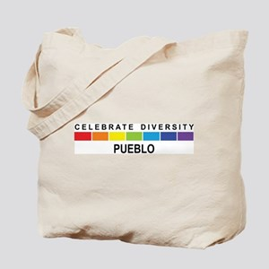 PUEBLO - Celebrate Diversity Tote Bag