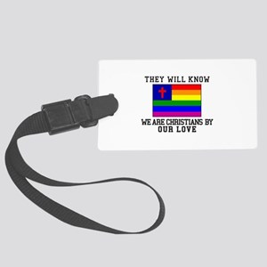They Will Know Luggage Tag