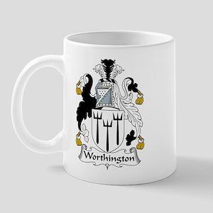Worthington Family Crest Mug