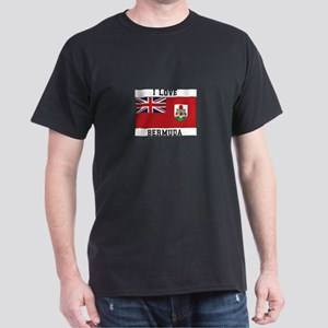 I Love Bermuda Flag T-Shirt