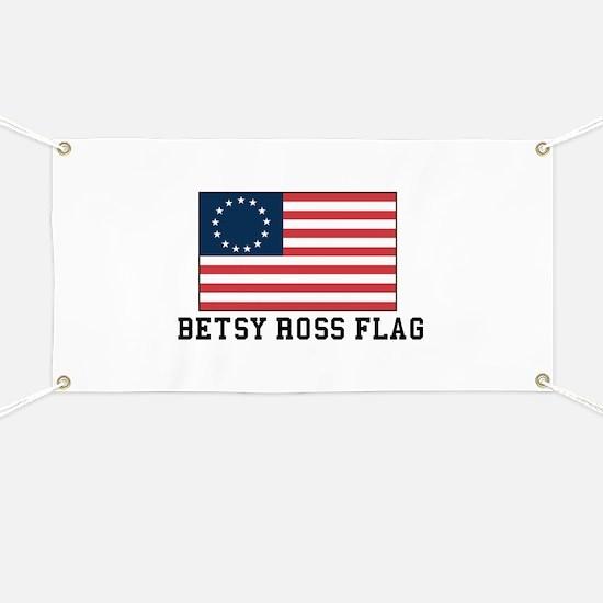 Betsy ross Flag Banner