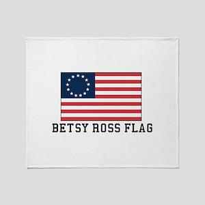 Betsy ross Flag Throw Blanket