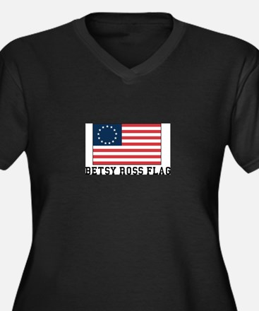 Betsy ross Flag Plus Size T-Shirt