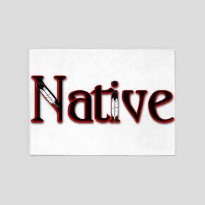 Native 5'x7'Area Rug