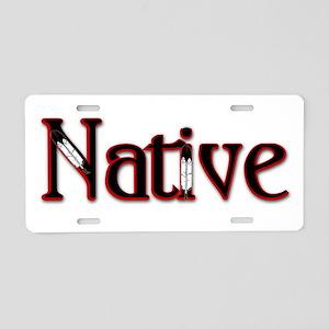 Native Aluminum License Plate