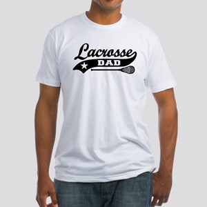 Lacrosse Dad Fitted T-Shirt