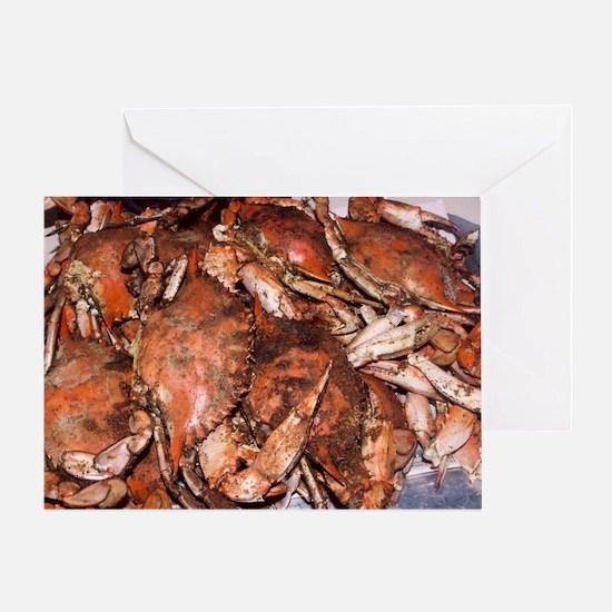 Crab Feast Greeting Card