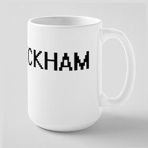 Beckham digital retro design Mugs