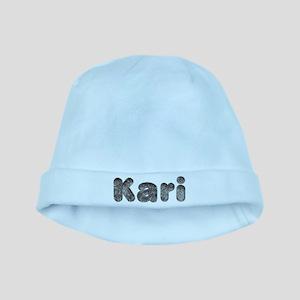 Kari Wolf baby hat
