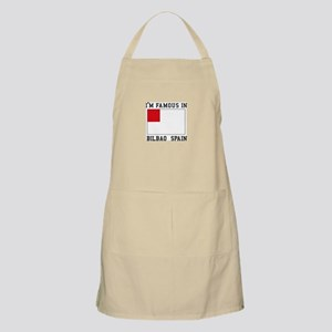 I'm Famous In Bilbao Spain Apron