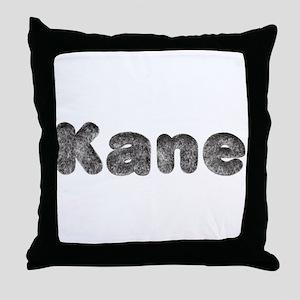 Kane Wolf Throw Pillow
