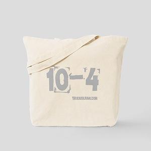 2-10-4 Gray Tote Bag