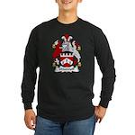 Woodruff Family Crest Long Sleeve Dark T-Shirt