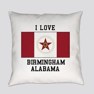 I love Birmingham Alabama Everyday Pillow