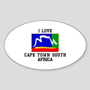 Cape Town South Africa Sticker