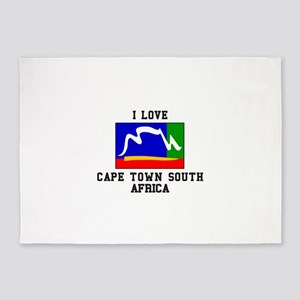 Cape Town South Africa 5'x7'Area Rug