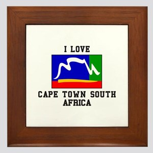 Cape Town South Africa Framed Tile