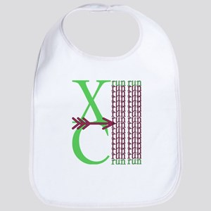 XC Run Green Purple Bib