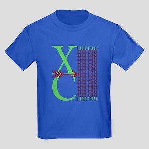 XC Run Green Purple T-Shirt