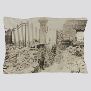 In The Trenches Pillow Case