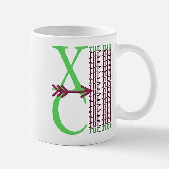XC Run Green Purple Mugs