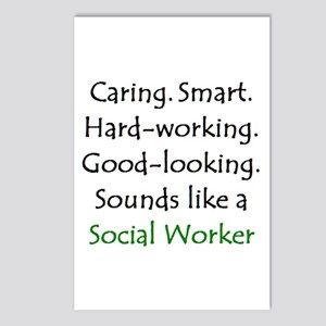 social worker sound Postcards (Package of 8)