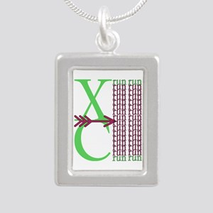 XC Run Green Purple Necklaces