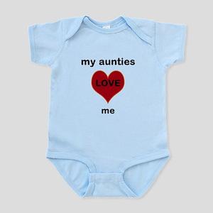 my aunties love me Body Suit