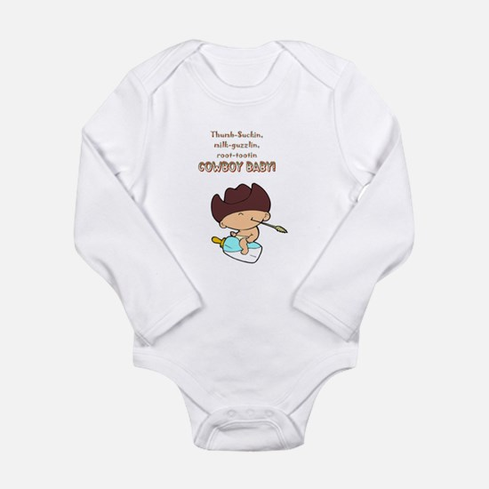 Cowboy Baby Infant Creeper Body Suit