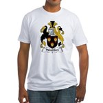 Woodford Family Crest  Fitted T-Shirt