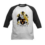 Woodford Family Crest  Kids Baseball Jersey