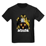 Woodford Family Crest Kids Dark T-Shirt