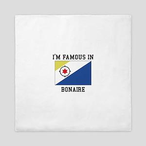 I'M Famous in Bonaire, Queen Duvet