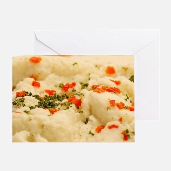 Mashed Potatoes Greeting Card
