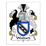 Woodard Family Crest Small Poster