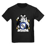 Woodard Family Crest Kids Dark T-Shirt