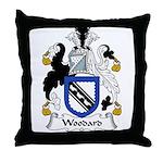 Woodard Family Crest Throw Pillow