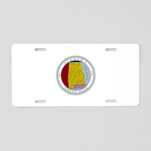 Alabama State Seal Aluminum License Plate