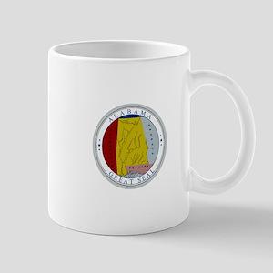 Alabama State Seal Mugs