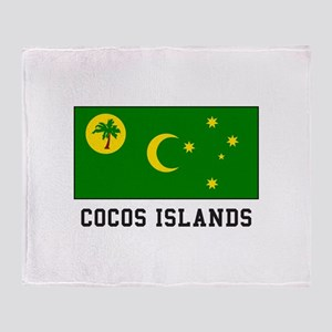 Cocos Islands Throw Blanket