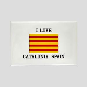 I Love Catalonia Spain Magnets