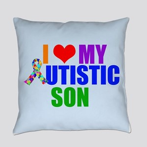 Autistic Son Everyday Pillow