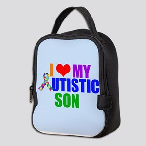 Autistic Son Neoprene Lunch Bag