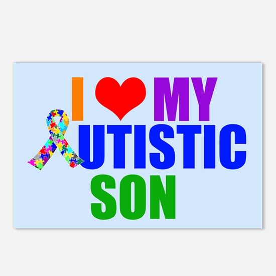 Autistic Son Postcards (Package of 8)